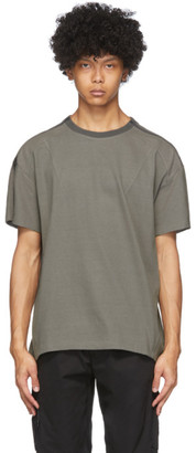 Blackmerle Beige Zip T-Shirt