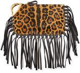 Valentino Cheetah-Print Zodiac Clutch Bag