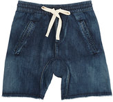 Munster DENIM CUTOFF SHORTS-BLUE SIZE 8