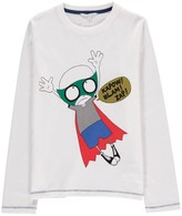 Little Marc Jacobs Mr Marc Super Heroes T-Shirt
