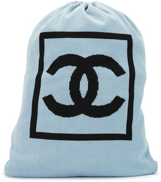 Chanel Pre Owned 2003 Sport line drawstring backpack