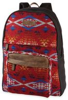 Pendleton Canvas Backpack in Diamond River Red