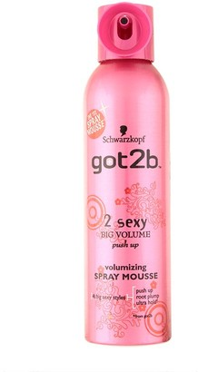 Schwarzkopf Got2B 2Sexy Spray Mousse 250Ml