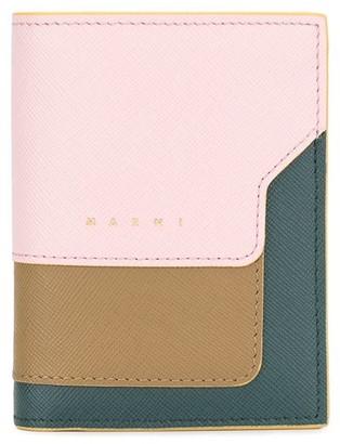 Marni colour block wallet