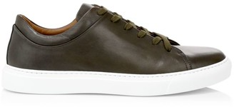 Aquatalia Alaric Leather Sneakers