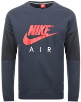 Nike Crew Neck Air Jumper Navy