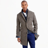 Ludlow Topcoat In Irish Herringbone Tweed