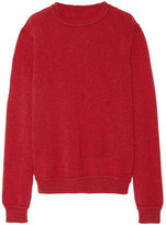 The Elder Statesman Ra Cashmere Sweater - Red
