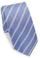Ike Behar Textured Italian Silk Tie