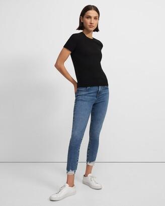 J Brand Alana High-Rise Crop Skinny Jean in Stretch Denim
