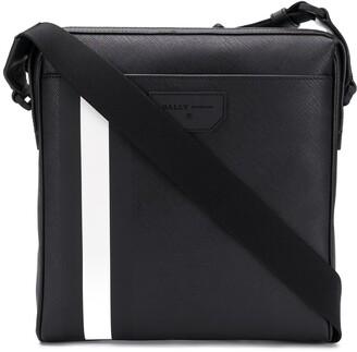 Bally Contrasting Stripe Messenger Bag