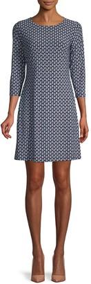 Tommy Hilfiger Paisley-Print Mini Dress