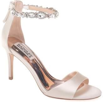 Badgley Mischka Sindy Embellished Ankle Strap Sandal