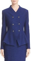 St. John Women's Catalina Double Breasted Knit Jacket