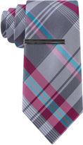Jf J.Ferrar JF Varsity Plaid XL Tie