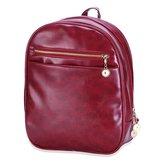 BURNING SECRET Women Girls PU Leather Backpack School Travel Shoulder Bag