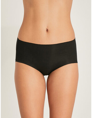 Wacoal Beyond Naked stretch-cotton hipster briefs