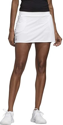 adidas Club Skirt (Black/Matte Silver/White) Women's Skirt