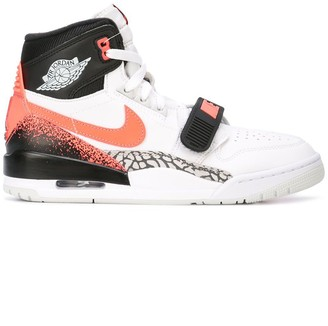 Jordan Air Legacy 312 NRG hot lava