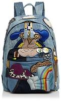 Marc Jacobs Julie Verhoeven Patched Denim Backpack
