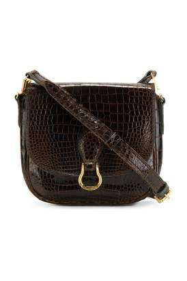 Louis Vuitton Vintage Saint cloud Brown Crocodile Handbag
