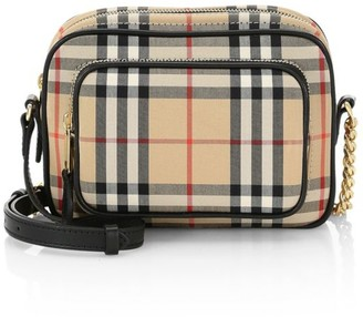 Burberry Small Vintage Check Camera Bag