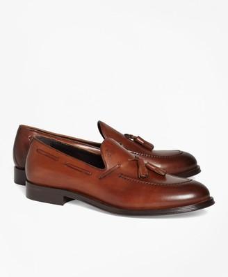 Brooks Brothers 1818 Footwear Leather Tassel Loafers