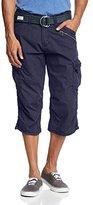 Timezone Men's Shorts Blue Blau (mood indigo 3607) 34