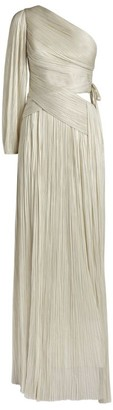 Maria Lucia Hohan Beatriz One-Shoulder Gown