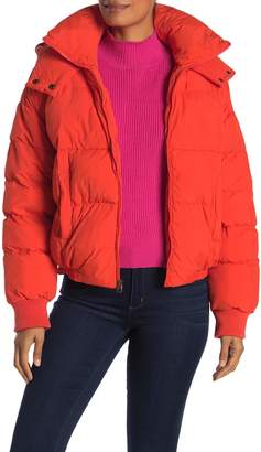 Lucky Brand Short Puffer Jacket