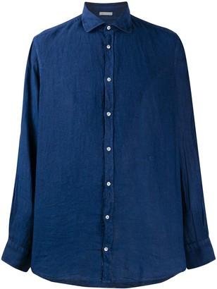 Massimo Alba Linen Long Sleeve Shirt