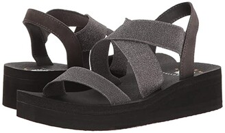 Yellow Box Bunkie (Pewter) Women's Sandals