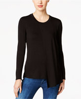 KUT from the Kloth Asymmetrical-Hem Top