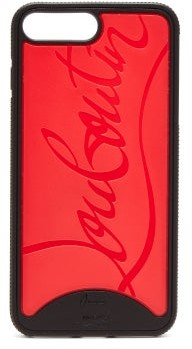 Christian Louboutin Loubiphone Rubber Iphone 8+ Case - Mens - Black
