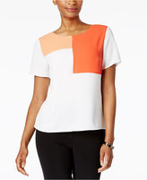 Nine West Colorblocked T-Shirt