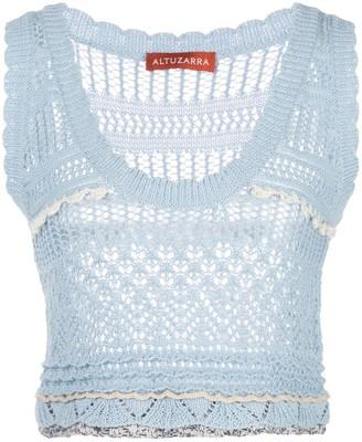 Altuzarra Betula knitted top