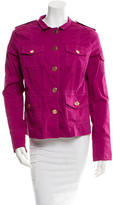 Tory Burch Fitted Long Sleeve Jacket