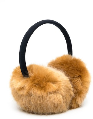 Hucklebones London Faux Fur Earmuffs