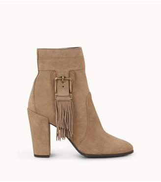 Tod's Tods Ankle Boots In Suede