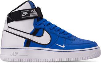 Nike Boys' Big Kids' Force 1 High LV8 Casual Shoes