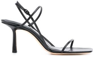 Studio Amelia Mid-Heel Strappy Sandals