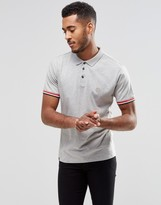 Le Breve Alfie Tipped Polo Shirt