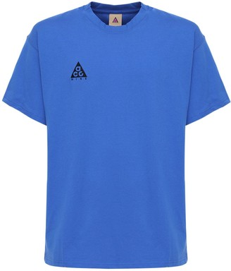 Nike ACG Acg Embroidery Cotton T-Shirt