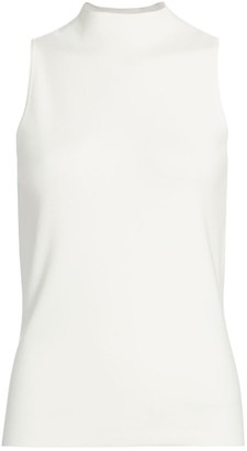 Milly Mockneck Shell Top