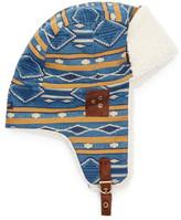 Pendleton Jacquard Faux Fur Lined Trapper Hat