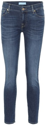 7 For All Mankind Roxanne mid-rise skinny jeans