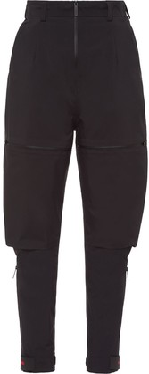 Prada Linea Rossa technical tapered trousers