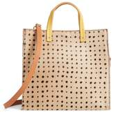 Clare Vivier Small Petit Simple Genuine Calf Hair Tote - Brown
