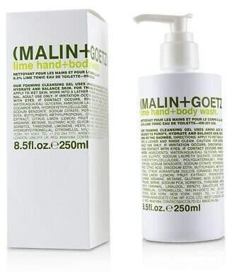 Malin+Goetz NEW Lime Hand+Body Wash 250ml Perfume