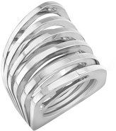 Vita Fede Futurro Cutout Sterling Silver Ring, Sizes 6-8
